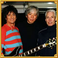 Ronnie Wood & Charlie Watts & Moony